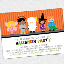 printable invitations for kids printable halloween invitation birthday party costume kids