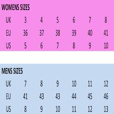 Zaxy Size Chart Size Guide