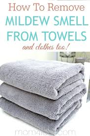 how to remove musty smell from bathroom how to remove mildew smell from towels and clothes