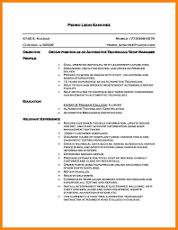 Resume For Diesel Mechanic Resume And Cover Letter Resume And