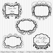 flourish frame clip art 59