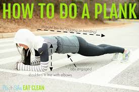 28 day plank challenge with free