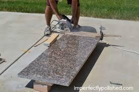 how to cut granite countertops as concrete countertops cost