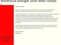 Sample Cover Letter For Janitor Position Example Warehouse Storeman