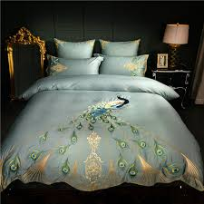 luxury bedding sets queen. Delighful Sets Chinese Embroidery Luxury Bedding Set Queen King Size Duvet Cover Bed Sheet  60S Egyptian Cotton Throughout Luxury Sets Queen S
