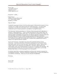 Teacher Cv Cover Letter Sample Education Resume Examples