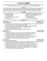 Truck Driver Objective For Resume Driver Resume Best Truck Driver Resume Sample And Tips Resume 50