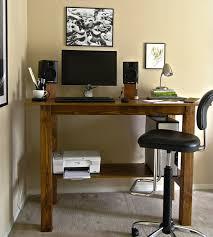 wood standing desk plans