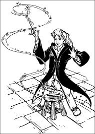 Harry potter 1, 2, 3, 4 e 5 Disegno Di Hermione Di Harry Potter Da Colorare