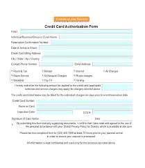 Automatic Withdrawal Form Template Credit Card Authorization Form Template Payment Authorisation