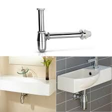 round bottle p trap basin sink
