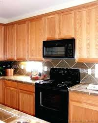kitchen backsplash with oak cabinets traditional light wood kitchen kitchen backsplash ideas for light oak cabinets kitchen backsplash