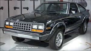 amc eagle american 4x4 pioneer slower selling eagles the larger two door and limited four door were dropped midyear amc s new 2 5 liter engine just one cubic inch smaller in