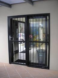 pictures iron patio door security gate