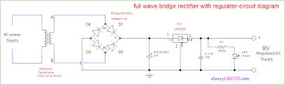 full wave bridge rectifier circuit diagram bridge rectifier ic
