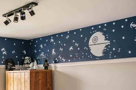 natural decorations then star wars wall decals