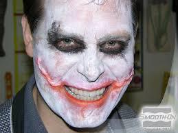 making joker style silicone scar appliances step 9 final makeup