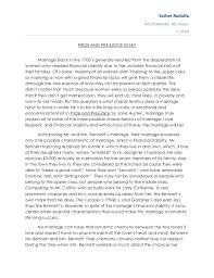 marriage essay papers madrat co pride and prejudice essay