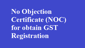 No Objection Certificate Noc For Obtain Gst Registration Tally