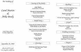 Wedding Template Microsoft Word Free Wedding Program Template Printable Wedding Program
