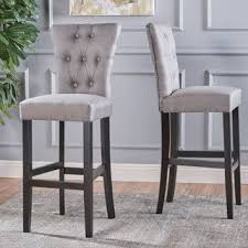 bar chair height. Perfect Height Pia Backed Fabric Barstools By Christopher Knight Home Set Of 2 With Bar Chair Height H