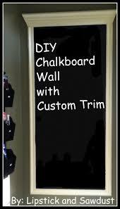 custom chalkboard wall
