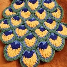 Image result for peacock eye crochet stitch