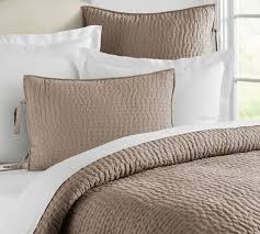 quilted duvet cover. Pick Stitch Handcrafted Quilt Sham Pottery Barn With Duvet Covers Plan 1 Quilted Cover S