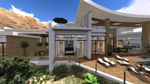 Design Exterior Case Moderne : Modern villa design in muscat oman by jeff page of sld architects