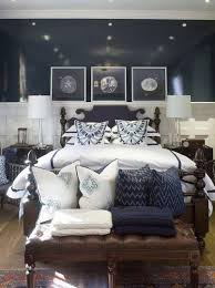 Decorating Your Interior Design Home With Fantastic Vintage Navy Blue And  White Bedroom Ideas And Get