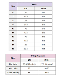 Lee Jeans Size Chart Lee Womens Mid Licks Super Skinny Jeans Bandwidth Blue