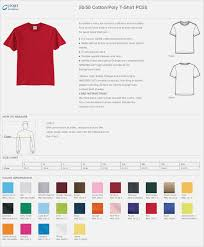 Hanes Sweatshirt Color Chart Coolmine Community School