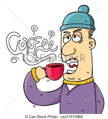 drinking coffee clipart. Unique Clipart People Drinking Coffee  Csp11513960 To Drinking Coffee Clipart K