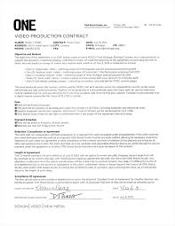 Service Agreement Samples Video Production Contract 6 Printable Contract Samples