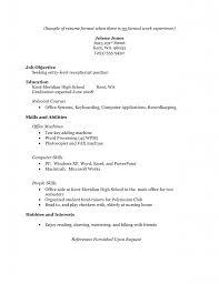 100 Skills Resume Samples Resume Examples Highlights Of