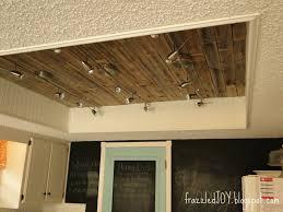 Box Fluorescent Light New Kitchen Lighting Planked Ceiling Best Kitchen