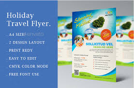 Travel Agency Flyers Sample Free Travel Brochure Templates Examples