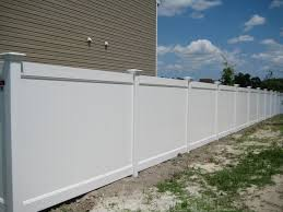 Vinyl Privacy Fences How To Install Vinyl Privacy Fence