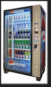 Pepsi Glass Front Vending Machine