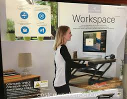 costco standing desk source ergotronhome sit or stand height adjule workspace lift35