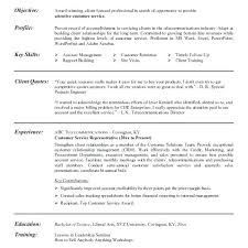 Resume Sample For Customer Service Best Of Customer Service Representative Resume Samples Joggnature