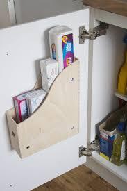 12 Brilliant Storage Ideas for Small Kitchens Kitchen cupboard