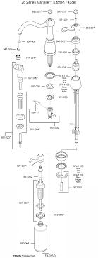 marielle single handle kitchen faucet model 26 series