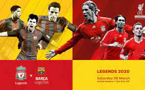 Browse 4,974 liverpool fc legends stock photos and images available, or start a new search to. Barca Legends Will Face Liverpool Fc Legends On Saturday 28 March At Anfield