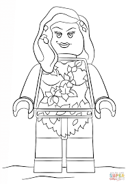 Small Picture Lego Poison Ivy coloring page Free Printable Coloring Pages