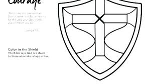 Fascinating Shield Of Faith Coloring Page Armor Of God Coloring