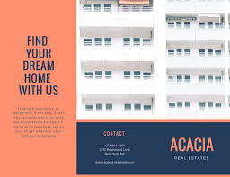 apartment brochures red apartment city real estate trifold brochure templates by canva