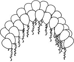 Stampa Disegno Di Palloncini Colorati Da Colorare