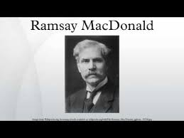「1924 James Ramsay MacDonald prime minister first labour party」の画像検索結果