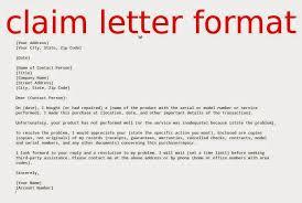 Claim Letter Format Magdalene Project Org